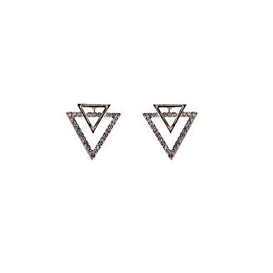Dames Oorknopjes Bergkristal Basisontwerp Uniek ontwerp Dubbele laag Vintage Bohemia Style PERSGepersonaliseerd Hypoallergeen Euramerican