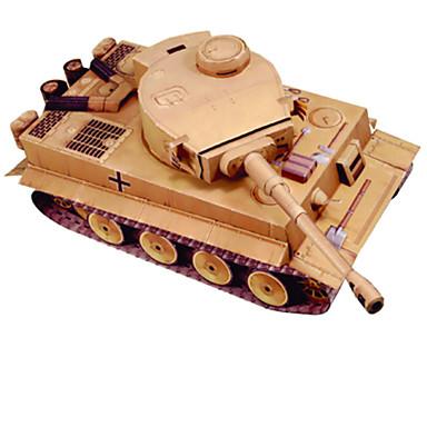 3D-puzzels Bouwplaat Modelbouwsets Speeltjes Vierkant Tank DHZ Hard Kaart Paper Niet gespecificeerd Stuks