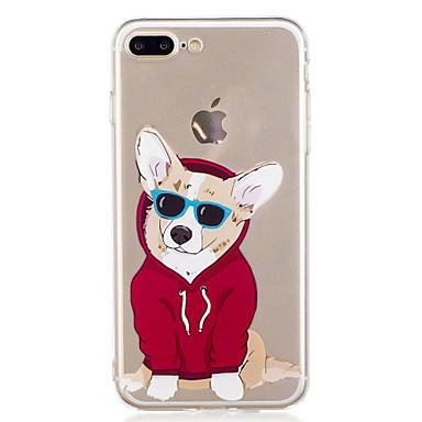غطاء من أجل Apple iPhone X إفون 8 نموذج غطاء خلفي كلب كارتون ناعم TPU إلى iPhone X iPhone 8 Plus iPhone 8 iPhone 7 Plus iPhone 7 iPhone