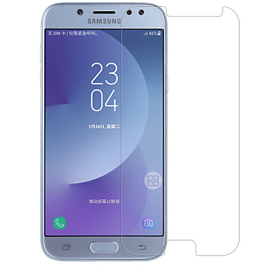 زجاج مقسي ضد البصمات (HD) دقة عالية 9Hقسوة انفجار برهان مقاومة الحك حامي شاشة أمامي Samsung Galaxy