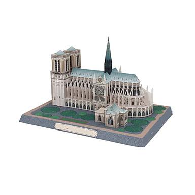 DHZ-kit 3D-puzzels Bouwplaat Speeltjes Beroemd gebouw Kerk (83 Architectuur 3D DHZ Niet gespecificeerd Stuks