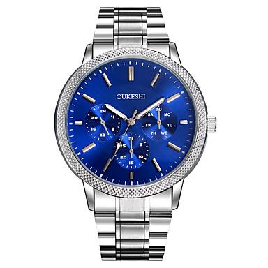 Bărbați Unic Creative ceas Ceas Casual Simulat Diamant Ceas Ceas Elegant  Ceas La Modă Ceas de Mână Chineză Quartz Mare Dial Metal Aliaj