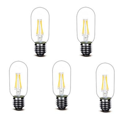 3W LED Glühlampen T 4 COB 400 lm Warmes Weiß Dekorativ AC220 V 1 Stück