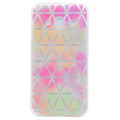 Hoesje voor Samsung Galaxy Grand Prime G530 Kerncase Prime G360 Cover Translucent Pattern Grid Network Soft TPU Case