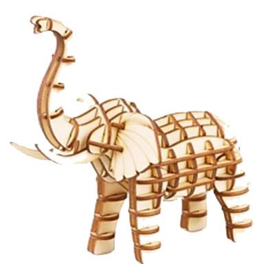 3D - Puzzle Holzpuzzle Holzmodelle Tier Tiere Heimwerken Holz Naturholz Unisex Geschenk