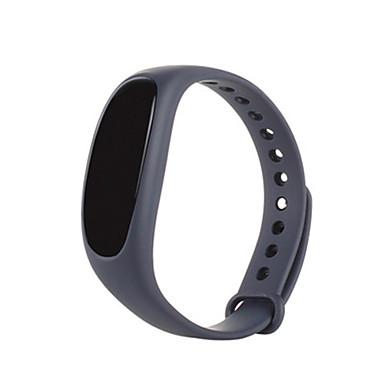 Damen Smart Uhr digital Silikon Band Schwarz Blau Rot Grün