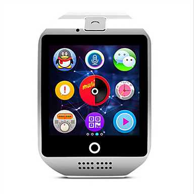 Herrn Smart Watch Modeuhr digital Wasserdicht Caucho Band Schwarz Weiß