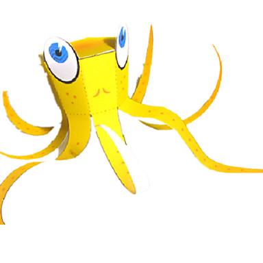 Puzzle 3D Modelul de hârtie Lucru Manual Din Hârtie Μοντέλα και κιτ δόμησης Pești Caracatiță Reparații Hârtie Rigidă pentru Felicitări