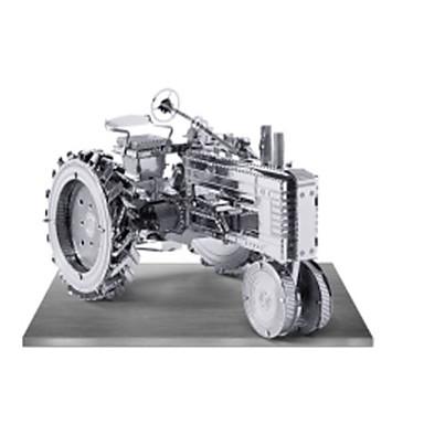 Speelgoedauto's 3D-puzzels Metalen puzzels Vrachtwagen 3D DHZ Kromi Metaal Klassiek Truck Constructievoertuig Bulldozer Unisex Geschenk