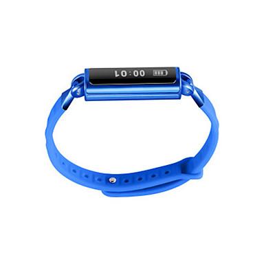 Herrn Smart Uhr Modeuhr digital Silikon Band Schwarz Blau