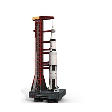 3D - Puzzle Holzpuzzle Modellbausätze Papiermodelle Spielzeuge Flugzeug Auto 3D Heimwerken Simulation Unisex Stücke