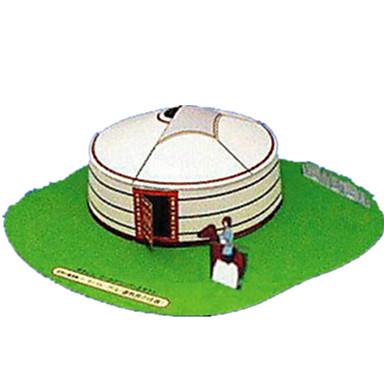 3D - Puzzle Papiermodel Spielzeuge Berühmte Gebäude Chinesische Architektur Haus 3D Heimwerken Hartkartonpapier keine Angaben Unisex