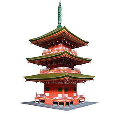 Puzzle 3D Jucarii Turn Clădire celebru Arhitectura Chineză Arhitectură 3D Reparații Ne Specificat Unisex Bucăți