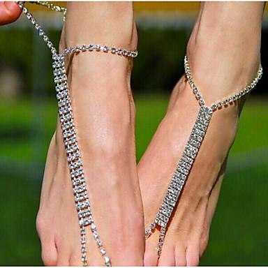 Pentru femei Lănțișor Picior Aliaj Vintage Geometric Shape Bijuterii de corp Pentru Casual Costum de bijuterii