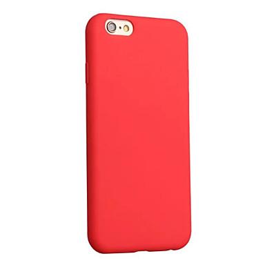 Para iPhone 8 iPhone 8 Plus Case Tampa Antichoque Ultra-Fina Capa Traseira Capinha Côr Sólida Macia PUT para Apple iPhone 8 Plus iPhone 8