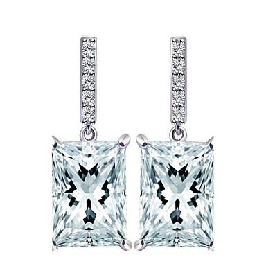 Pentru femei Cercei Picătură Zirconiu Cubic La modă Aliaj Geometric Shape Bijuterii Pentru Nuntă Petrecere / Seară Evenimente/Petrecere