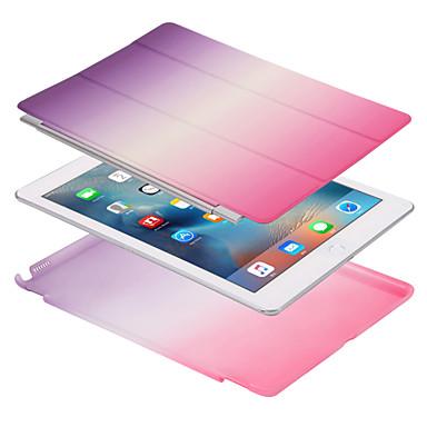 غطاء من أجل Apple آي باد ميني 4 باد البسيطة 3/2/1 باد 4/3/2 iPad Air 2 iPad Air مغناطيس غطاء كامل للجسم لون الصلبة لون متغاير قاسي جلد PU