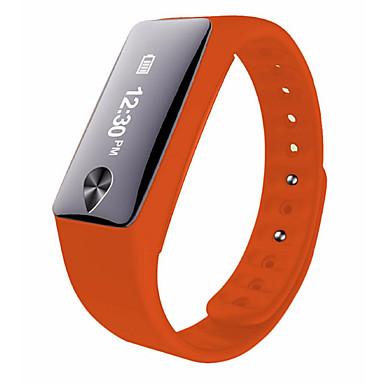 Slimme armbandWaterbestendig Verbrande calorieën Stappentellers Logboek Oefeningen Sportief Camera Hartslagmeter Touch Screen