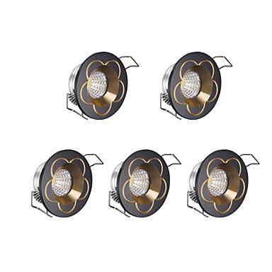 Недорогие LED освещение для шкафчиков-3 W Светодиодные бусины Диммируемая LED освещение для шкафчиков Холодный белый 220 V / 5 шт.