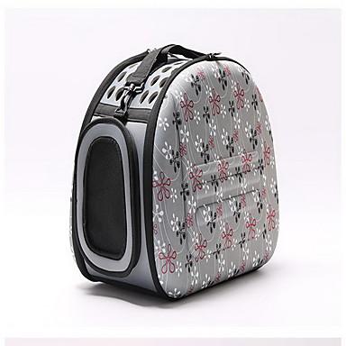 Pisici Câine Portbagaje & rucsacuri de călătorie Animale de Companie  Genţi Transport Portabil Respirabil Floare Portocaliu Gri Roz