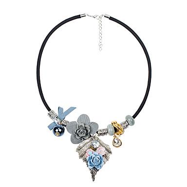 Dames Strikvorm Bloem Vorm Euramerican Modieus Verklaring Kettingen Legering Verklaring Kettingen Feest Kostuum juwelen
