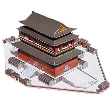 3D-puzzels Bouwplaat Beroemd gebouw Chinese architectuur Drumstel DHZ Hard Kaart Paper Chinese stijl Kinderen Unisex Geschenk