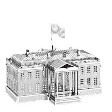 3D - Puzzle Holzpuzzle Metallpuzzle Modellbausätze Turm Architektur Heimwerken Edelstahl Chrom Eisen Metal Klassisch Mädchen Jungen Unisex