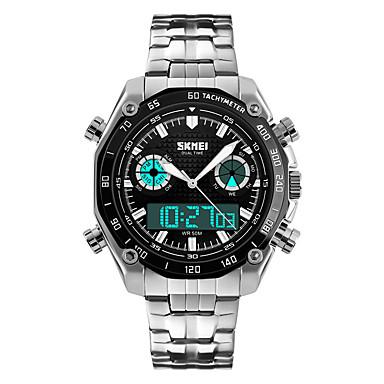 Slim horloge Waterbestendig Lange stand-by Sportief Multifunctioneel Stopwatch Wekker Chronograaf Kalender Dubbele tijdzones OtherGeen