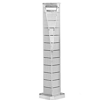 Puzzle 3D Puzzle Puzzle Metal Μοντέλα και κιτ δόμησης Jucarii Dreptunghiular Turn Clădire celebru Arhitectură 3D turnul Eiffel Fier