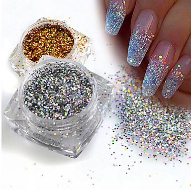 1 pcs Sequins / Glitter Powder Elegant & Luxurious / Sparkle & Shine / Nail Glitter Nail Art Design