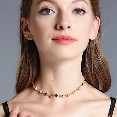 Damen Stern Personalisiert Modisch Euramerican Handgemacht Simple Style Halsketten Schmuck Kupfer Halsketten . Party Alltag Normal Formal