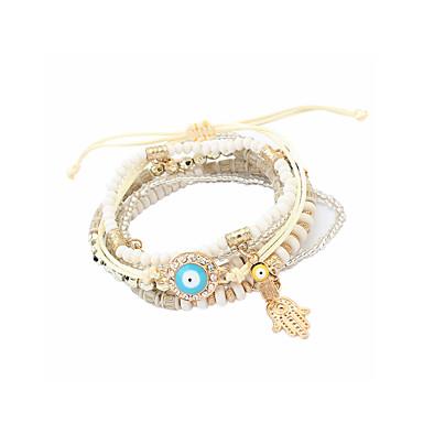 Dames Armbanden met ketting en sluiting Sieraden Natuur Vriendschap Modieus Bohemia Style Punk-stijl Met de hand gemaakt Regenboog