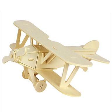 Puzzle 3D Puzzle Modelul lemnului Jucarii Aeronavă 3D Animale Reparații Lemn Lemn natural Unisex Bucăți
