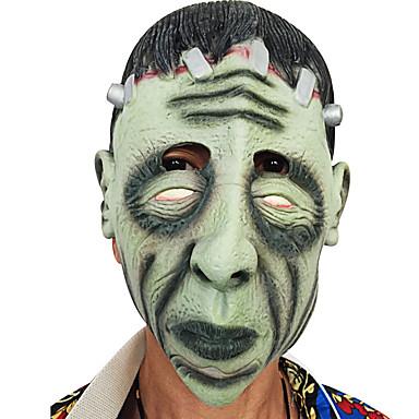 Halloween volles gesicht horror grimasse schablone maskerade kostüm partei bewegliches thema kleid sah maske gesicht haube