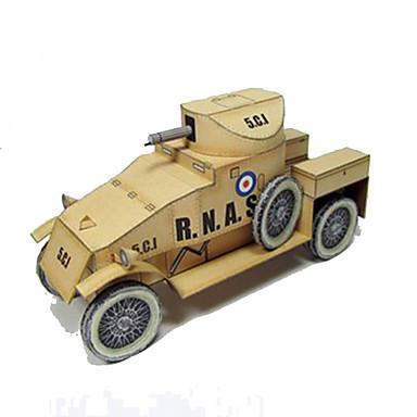Jucării pentru mașini Puzzle 3D Modelul de hârtie Pătrat Reparații Hârtie Rigidă pentru Felicitări toate vârstele