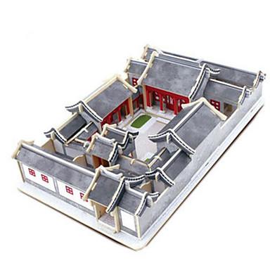 Robotime 3D-puzzels Legpuzzel Houten modellen Modelbouwsets Beroemd gebouw Architectuur 3D DHZ Hout Klassiek Unisex Geschenk