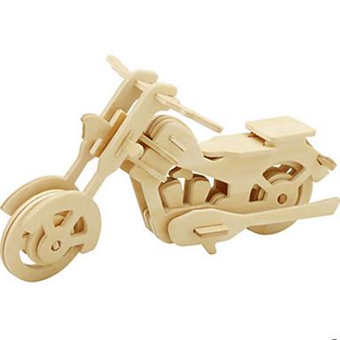 قطع تركيب3D تركيب ألعاب ديناصور دراجة نارية حشرة 3D الحيوانات اصنع بنفسك خشب غير محدد قطع