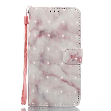 Maska Pentru Samsung Galaxy A5(2017) A3(2017) Titluar Card Portofel Cu Stand Întoarce Magnetic Model Carcasă Telefon Marmură Greu PU piele