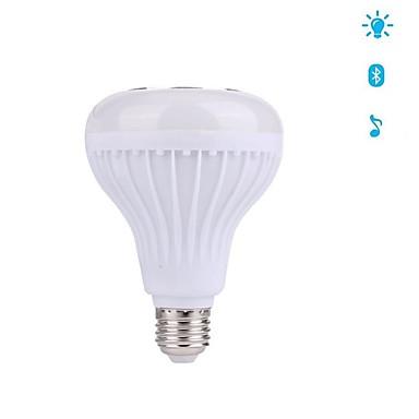 12W E27 Slimme LED-lampen 28 LEDs SMD Bluetooth Dimbaar Decoratief RGB 1000lm 3000/6000K AC100-240V