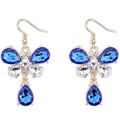 Dames Druppel oorbellen Synthetische Diamant Gepersonaliseerde Uniek ontwerp Hangende stijl Dierenontwerp Klassiek Bohémien Standaard