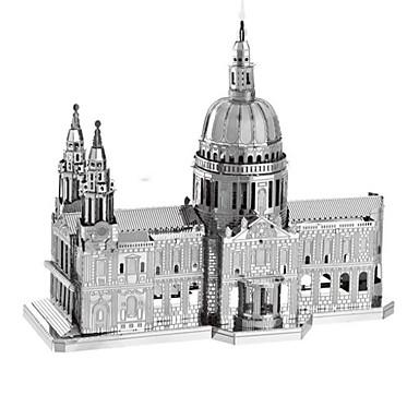 3D - Puzzle Holzpuzzle Metallpuzzle Modellbausätze Rechteckig Turm Berühmte Gebäude Architektur Eiffelturm 3D Eisen Aluminium Metal Kinder