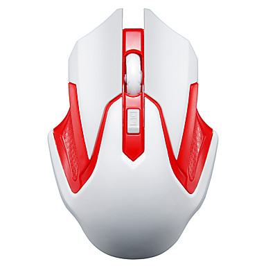 موتوسبيد g409 4 مفاتيح 1600 ديسيبل متوحد الخواص أوسب اللاسلكية الأحمر الماوس الأحمر