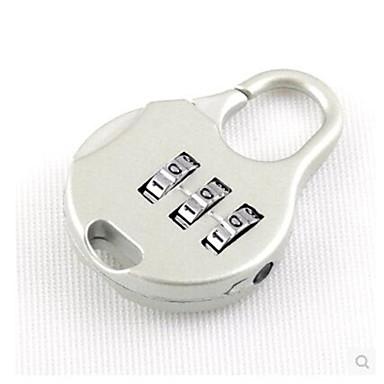 001 Kennwort Vorhängeschloss Edelstahl Passwort freischaltenforRollkoffer