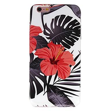 Pentru iPhone X iPhone 8 Carcase Huse Model Carcasă Spate Maska Floare Moale TPU pentru Apple iPhone X iPhone 8 Plus iPhone 8 iPhone 7