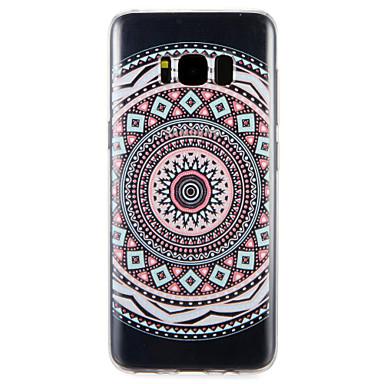 Maska Pentru Samsung Galaxy S8 Plus S8 Model Carcasă Spate Model Geometric Moale TPU pentru S8 Plus S8 S7