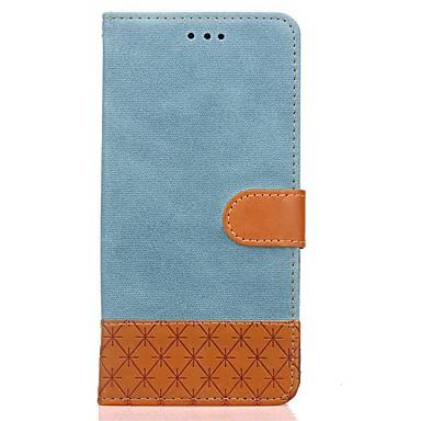 Maska Pentru LG Titluar Card Portofel Cu Stand Întoarce Embosat Carcasă Telefon Culoare solidă Greu PU piele pentru LG K10 (2017) LG K8