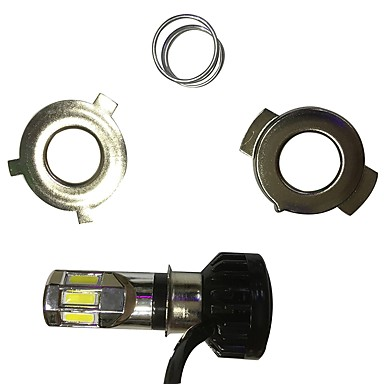 cheap Motorcycle Lighting-H4 Motorcycle Light Bulbs 35W COB 3500lm LED Headlamp