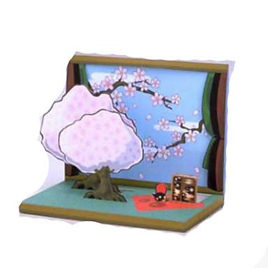 3D - Puzzle Papiermodelle Rechteckig Quadratisch 3D Einrichtungsartikel Heimwerken Unisex Geschenk