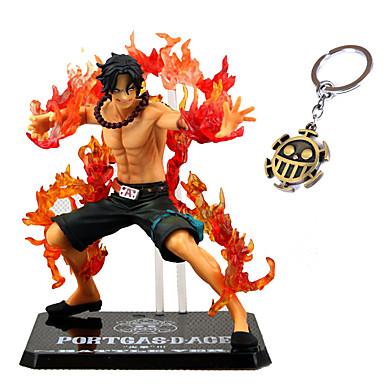 Anime de acțiune Figurile Inspirat de One Piece Ace PVC CM Model de Jucarii păpușă de jucărie