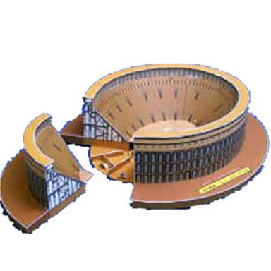 3D - Puzzle Papiermodel Modellbausätze Papiermodelle Spielzeuge Berühmte Gebäude Pferd Architektur 3D Heimwerken Unisex Stücke